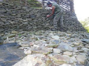 mur en pierres seches-Habilux
